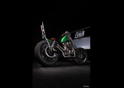 Leuk Motorcycle avec Chopper