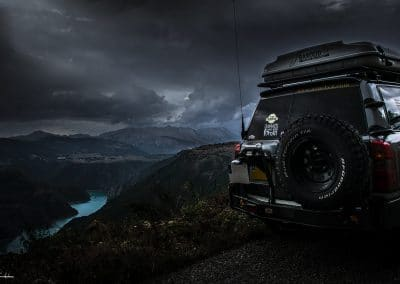 Nissan Patrol dans les Balkans
