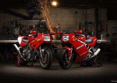 Duo de Ducati 900 SS
