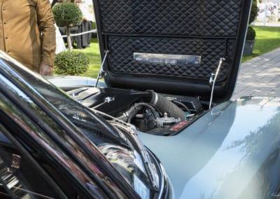 Maserati Frua Mexico lors du concours d'élégance du Touquet Paris Plage