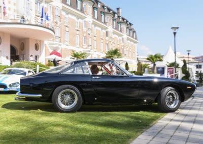 Ferrari 250 Lusso lors du concours d'élégance du Touquet Paris Plage