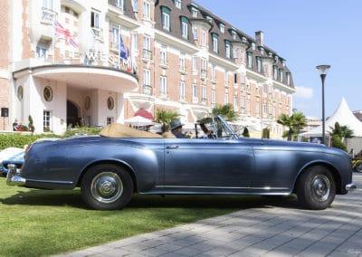 Bentley Cabriolet de 1957 lors du concours d'élégance du Touquet Paris Plage