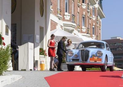 Lancia B20 lors du concours d'élégance du Touquet Paris Plage