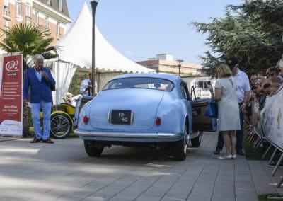 Lancia B20 de 1958 lors du concours d'élégance du Touquet Paris Plage