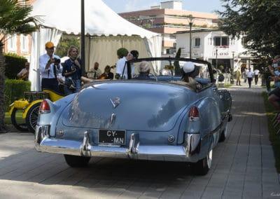 Cadillac Série 62 de 1950 lors du concours d'élégance du Touquet Paris Plage