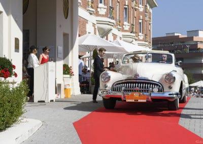 Buick 62 Grand Palais de 1948 de 1950 lors du concours d'élégance du Touquet Paris Plage