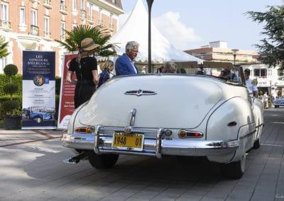 Buick 62 Grand Palais de 1948 lors du concours d'élégance du Touquet Paris Plage