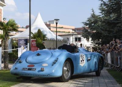 Bugatti 57 Le Mans de 1937 lors du concours d'élégance du Touquet Paris Plage