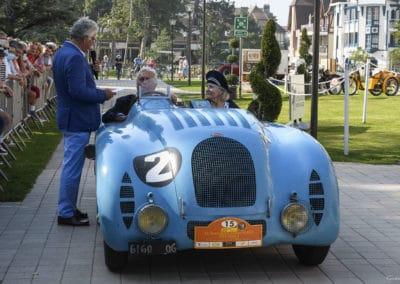Bugatti 57 Le Mans lors du concours d'élégance du Touquet Paris Plage