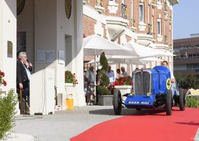 La Citroën Petite Rosalie lors du concours d'élégance du Touquet Paris Plage