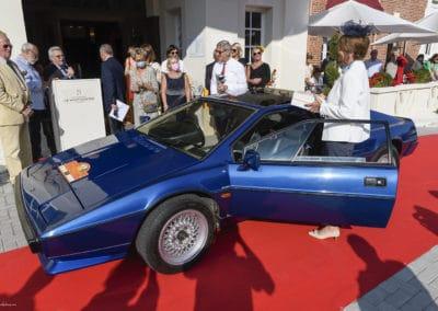Lotus 3 lors du concours d'élégance du Touquet Paris Plage