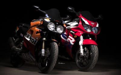 Duo de Honda CBR 900