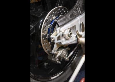 étier et disque arrière Honda RC213 VS