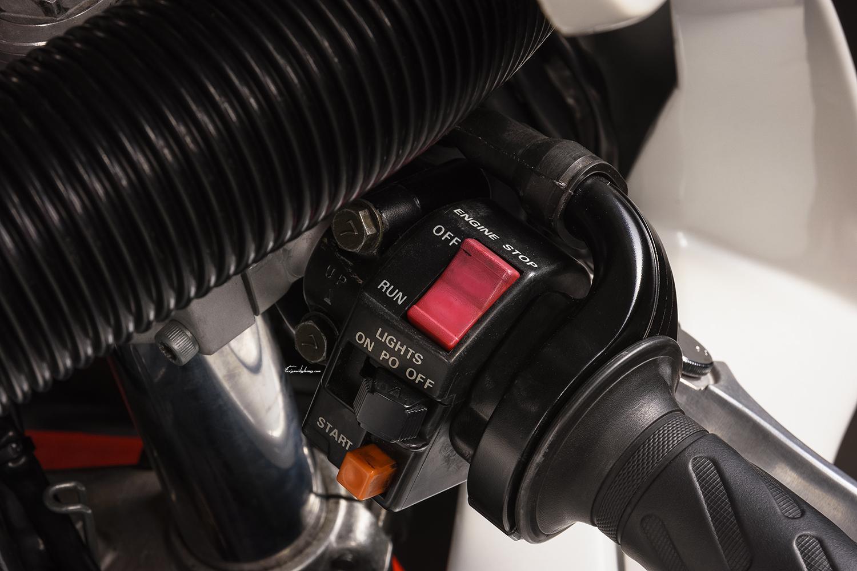 Guidon moto Yamaha FZR 750 R OW01