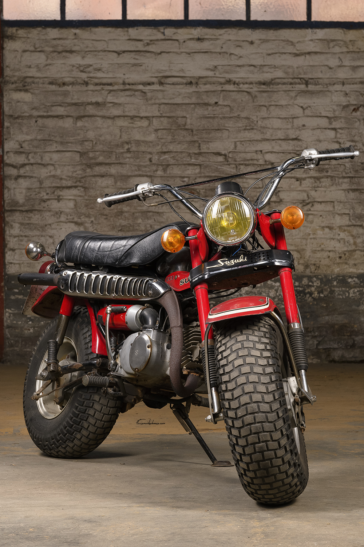 Photo Suzuki RV 90 K vue de face