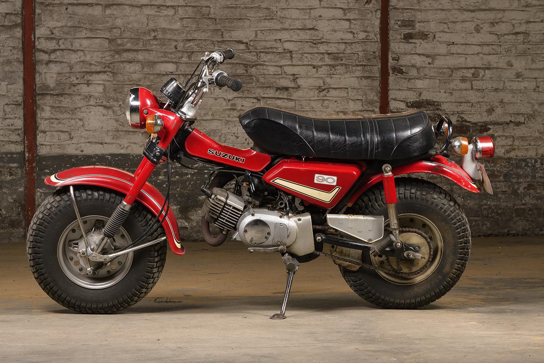 Profil Suzuki RV 90 K