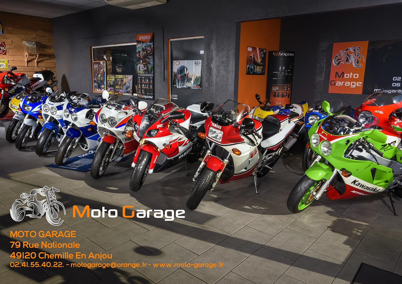 Publicité Moto Garage Chemillé